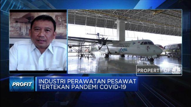 GMFI Sektor MRO Topang Bisnis Perawatan Pesawat GMFI Kala Pandemi