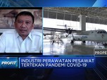 Sektor MRO Topang Bisnis Perawatan Pesawat GMFI Kala Pandemi