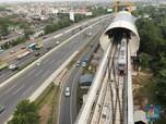 Kabar Gembira! LRT Jabodebek Siap Operasi Tahun Depan
