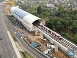 Penampakan Proyek LRT Jabodebek yang Tak Kunjung Tuntas