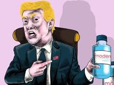 Trump: AS Bakal Miliki Vaksin Covid-19 Tahun Ini