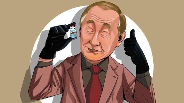 INFOGRAFIS, Sputnik V, Vaksin Covid-19 Buatan Rusia