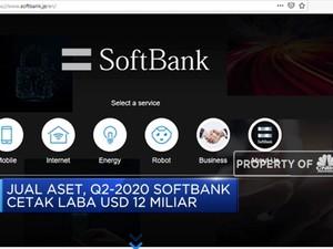 Usai Rugi, Softbank Kini Untung USD 12 Miliar
