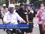 Skuter Listrik Bisa Kembali Meluncur di Jakarta