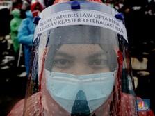 Panas! 5 Fraksi DPR Tolak Klaster Tenaga Kerja di Omnibus Law