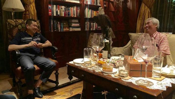Hary Tanoe & Lo Kheng Hong/Istimewa