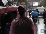 Waspada, Jabodetabek Bakal Hujan Lebat Disertai Angin Kencang