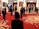 Dirut Telkom Ririek Adriansyah Dapat Tanda Kehormatan Jokowi