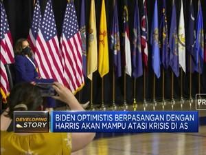 Saling Puji Warnai Kampanye Perdana Biden & Harris