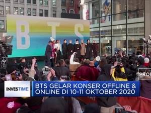 BTS Gelar Konser Offline & Online pada 10-11 Oktober 2020