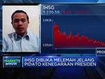 Jelang Pidato Jokowi di Sidang MPR, IHSG Memerah