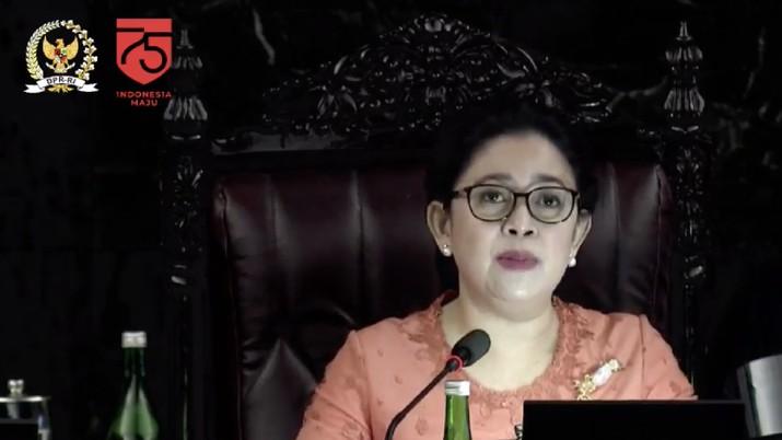 Ketua DPR Puan Maharani (Tangkapan Layar Youtube DPR RI)