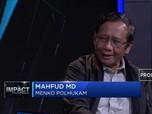 Mahfud MD: Politik Boleh Ikut Campur Dalam Hukum