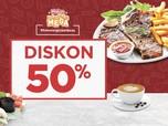 Mau Diskon Makan-makan 50%, Cus Pakai CC Bank Mega!