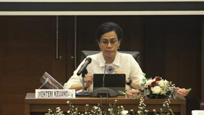 Menteri Keuangan Sri Mulyani (Tangkapan Layar Youtube)
