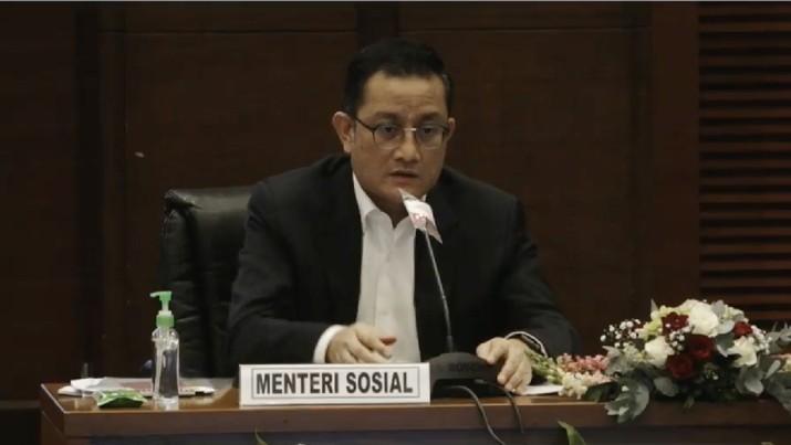 Menteri Sosial RI Juliari P. Batubara (Tangkapan Layar Youtube)