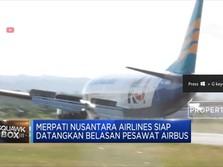 Merpati Siap Datangkan Belasan Pesawat Airbus