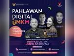 Putri Tanjung & Teten Masduki Berburu Pahlawan Digital UMKM
