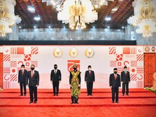Intip Gaya Jokowi Berbusana Khas NTT di Sidang Tahunan MPR RI