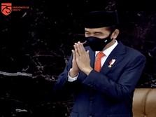 Ngeri, Jokowi Sebut 2021 RI Masih Dihantui Ketidakpastian