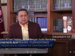 Menilik Kondisi RI Hadapi Pandemi Dari Perspektif Seorang SBY