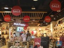 Penjualan Ritel Lesu, Agustus Turun 9,2%