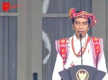 Lagi, Jokowi Kenakan Baju Adat NTT di HUT ke-75 RI