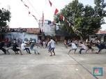 Kemeriahan Lomba 17-an Saat Pandemi di Sudut Kampung Ibu Kota