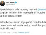 Heboh! Film Bajakan Joko Anwar Disebar oleh Menteri Jokowi