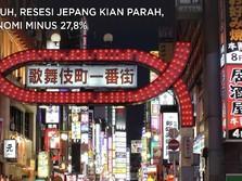 Waduh, Resesi Jepang Kian Parah, Ekonomi Minus 27,8%
