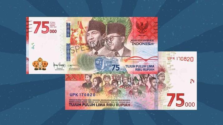 Infografis: Uang Khusus HUT RI Rp 75.000
