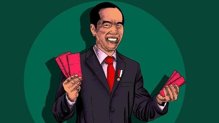Infografis/cara cek apakah dapat Subsidi Gaji dari Jokowi