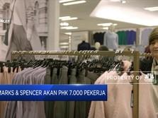 Marks & Spencer Akan PHK 7.000 Pekerja