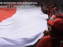 Lumayan, PDB RI Peringkat 3 di Antara Negara-negara G20