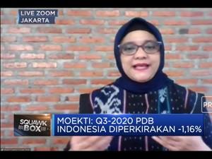 Resesi Makin Nyata, Danareksa Proyeksi Q3-2020 PDB RI -1,16%