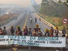 Malangnya Brasil, Sudah Resesi Kasus Corona Tembus 4 Juta