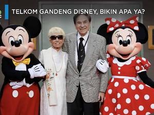 Wah...Telkom Gandeng Disney, Bikin Apa yah?