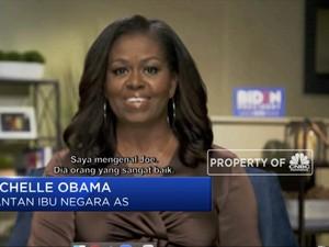 Testimoni Michelle Obama untuk Biden dan Harris