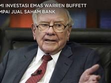 Demi Investasi Emas, Warren Buffett Sampai Jual Saham Bank