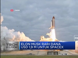 Elon Musk Galang Dana USD 1,9 M untuk SpaceX