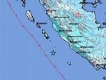 Mentawai Diberondong 10 Kali Gempa Skala M 5 dalam 9 Hari