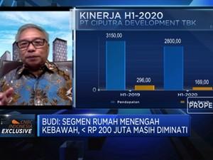 Pandemi, CTRA: Target Penjualan 2020 Lebih Rendah 25%