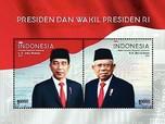 Ini Prangko Khusus HUT RI Ke-75, Ada Jokowi-Ma'ruf Amin