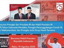 Prangko Bergambar Jokowi-Ma'ruf Amin Diluncurkan