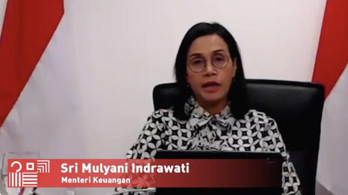 Sri Mulyani Indrawati (Dok: Tangkapan layar Kemenkeu)