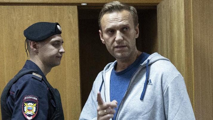 Alexei Navalny. (AP/Dmitri Lovetsky)