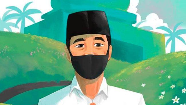 Sambut Tahun Baru Islam Jokowi Tinggalkan Pesimisme Hijrah