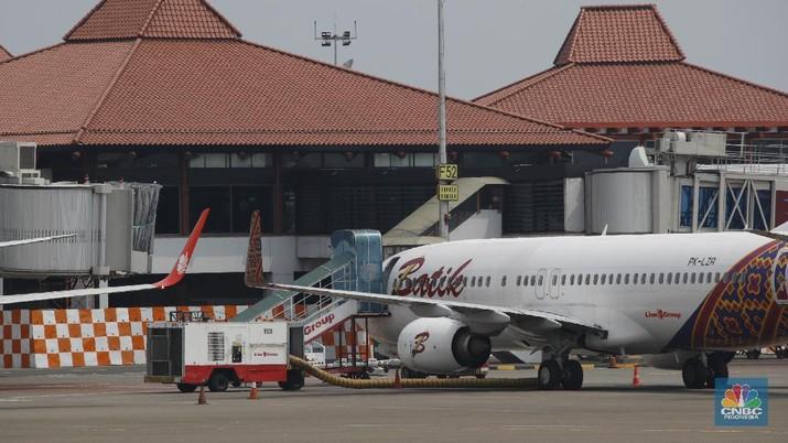 Maskapai penerbangan Batik Air. (CNBC Indonesia/Tri Susilo)