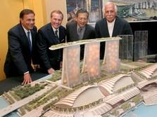 Marina Bay Sands Singapura Bakal Jadi Host WEF Davos 2021