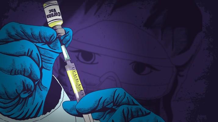 Infografis/ Jutaan Dosis Vaksin 'Sudah di Tangan' RI, Sayonara Corona?/Aristya Rahadian